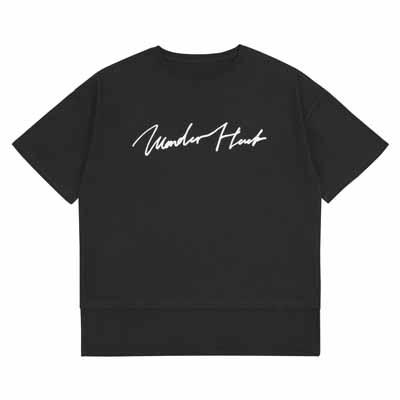 Tシャツ_WH_ブラック