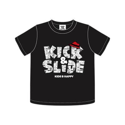 K&S COMIC T/S LOGO KIDS_BLACK