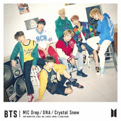 MIC Drop/DNA/Crystal Snow【初回限定盤A】(CD+DVD)