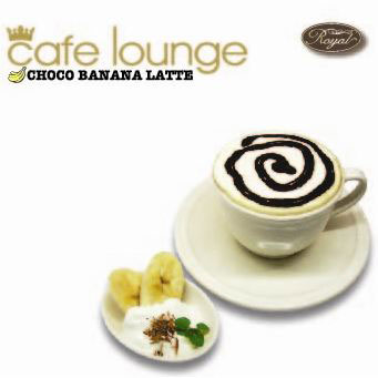 cafe lounge Royal Choco Banana Latte