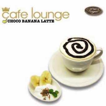 cafe lounge Royal Choco Banana Latte