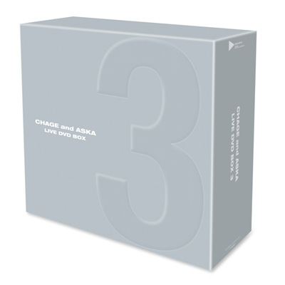 CHAGE and ASKA LIVE DVD BOX 3(3枚組DVD)