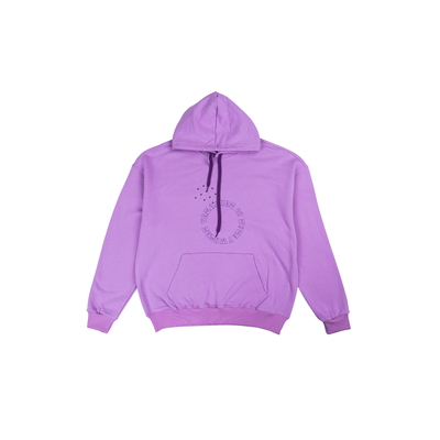 [TREASURE MAP] TREASURE HOODIE PURPLE L