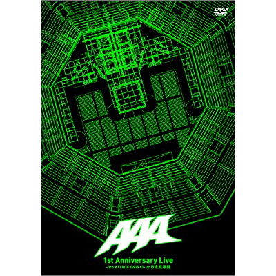 1st Anniversary Live -3rd ATTACK 060913- at 日本武道館(2DVD)