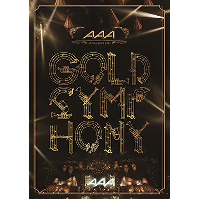 AAA ARENA TOUR 2014 -Gold Symphony-【2枚組DVD】通常盤