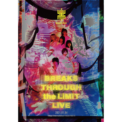 EMPiRE BREAKS THROUGH the LiMiT LiVE【2枚組DVD】