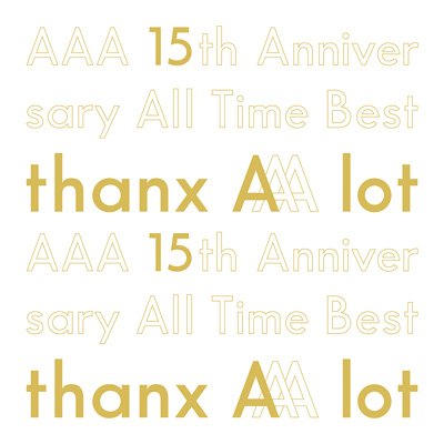【初回生産限定盤】AAA 15th Anniversary All Time Best -thanx AAA lot-(5枚組CD)