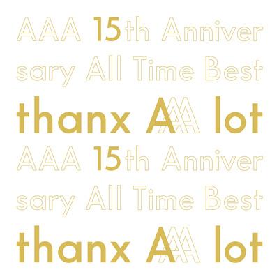 【初回生産限定盤】AAA 15th Anniversary All Time Best -thanx AAA lot-(5枚組CD)