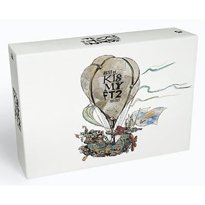 【DVD付 初回盤B】BEST of Kis-My-Ft2(3CD+DVD)