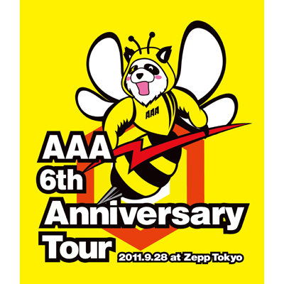 【Blu-ray】AAA 6th Anniversary Tour 2011.9.28 at Zepp Tokyo