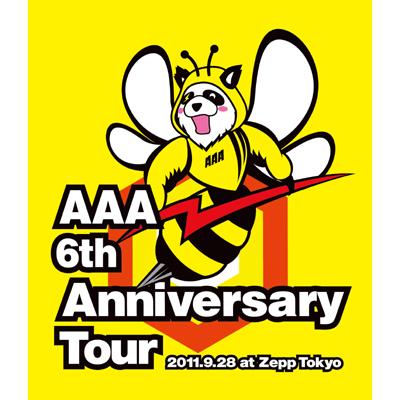 【Blu-ray】AAA 6th Anniversary Tour 2011.9.28 at Zepp Tokyo