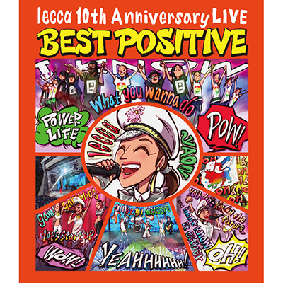 lecca 10th Anniversary LIVE BEST POSITIVE(Blu-ray Disc+スマプラ)