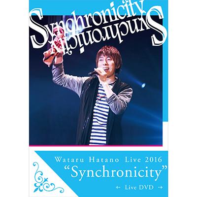 "Wataru Hatano Live2016 ""Synchronicity"" Live DVD"