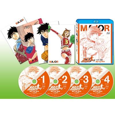 メジャー[アメリカ! 挑戦編] Blu-ray BOX(4枚組Blu-ray)