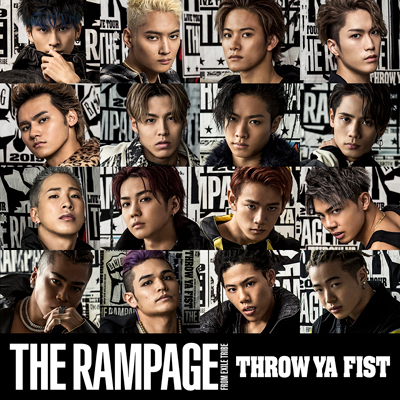 THROW YA FIST(CD)|THE RAMPAGE from EXILE TRIBE|mu-moショップ