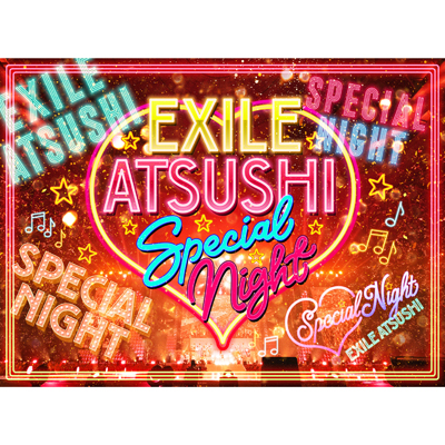 EXILE ATSUSHI SPECIAL NIGHT(3Blu-ray+CD)