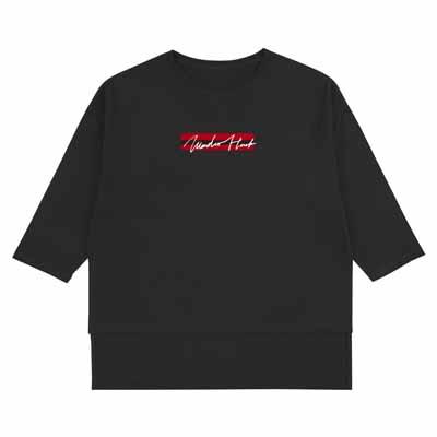 グラフィックロングスリーブTシャツ