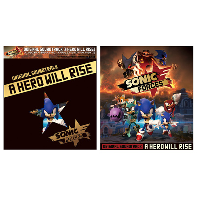 Sonic Forces Original Soundtrack - A Hero Will Rise(3枚組CD)
