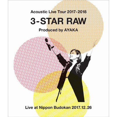 Acoustic Live Tour 2017-2018 ~3-STAR RAW~(Blu-ray)