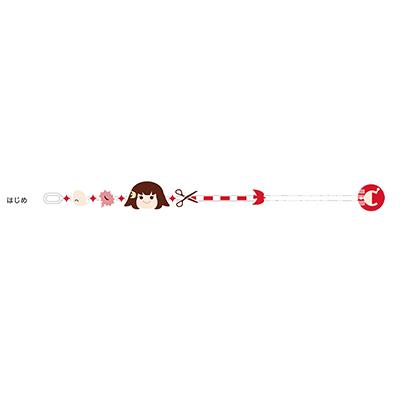 ガッチャマン クラウズ インサイト 刺繍ブレスレット(はじめ)
