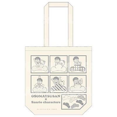 おそ松さん×Sanrio characters トートバッグ