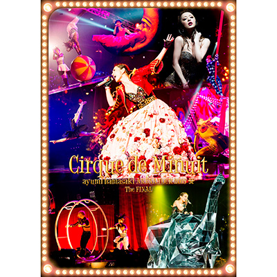 ayumi hamasaki ARENA TOUR 2015 A(ロゴ) Cirque de Minuit ~真夜中のサーカス~ The FINAL(2枚組DVD)