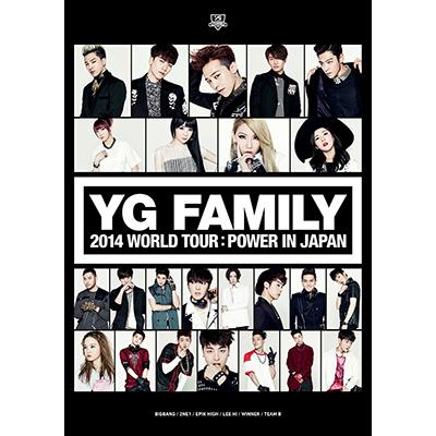 YG FAMILY WORLD TOUR 2014 -POWER- in Japan(3枚組DVD)