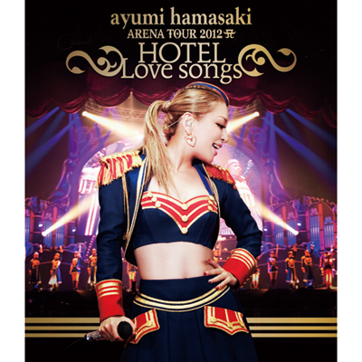 ayumi hamasaki ARENA TOUR 2012 A(ロゴ) ~HOTEL Love songs~【Blu-ray】