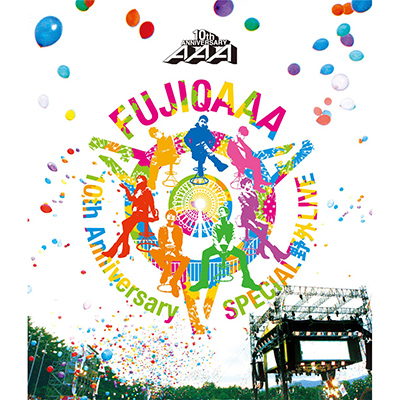 AAA 10th Anniversary SPECIAL 野外LIVE in 富士急ハイランド【通常盤Blu-ray】