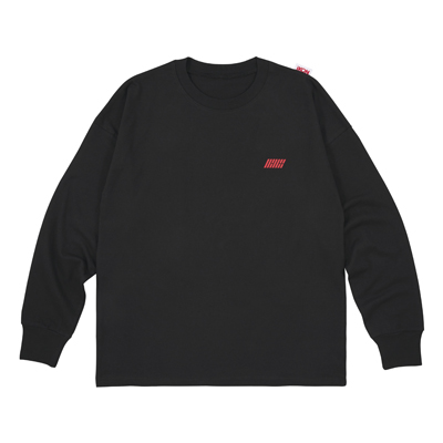 ロングスリーブTシャツ(BLACK)