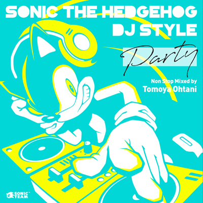 Sonic The Hedgehog DJ Style