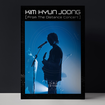 KIM HYUN JOONG From The Distance Concert < A Bell Of Blessing >(Blu-ray)