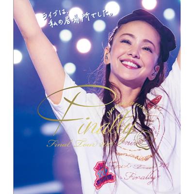 namie amuro Final Tour 2018 ~Finally~[東京ドーム最終公演+25周年沖縄ライブ]【通常盤】(2枚組Blu-ray)