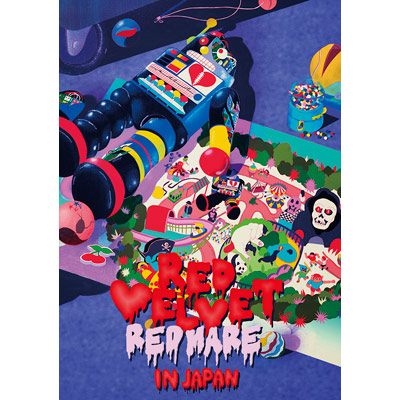 "Red Velvet 2nd Concert ""REDMARE"" in JAPAN【2枚組DVD(スマプラ対応)】"