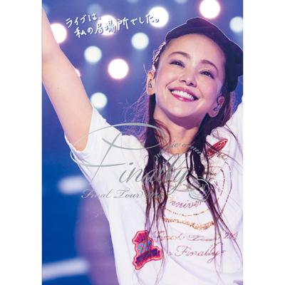 namie amuro Final Tour 2018 ~Finally~[東京ドーム最終公演+25周年沖縄ライブ]【通常盤】(3枚組DVD)
