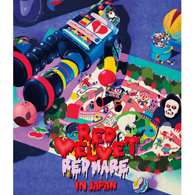 "Red Velvet 2nd Concert ""REDMARE"" in JAPAN 【Blu-ray Disc(スマプラ対応)】"