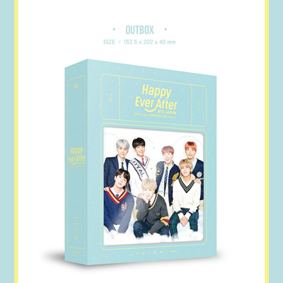 BTS JAPAN OFFICIAL FANMEETING VOL 4 [Happy Ever After] 【初回限定生産】(3枚組DVD)