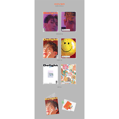 【韓国盤】2nd MINI ALBUM:Delight(CD)<ランダム発送>