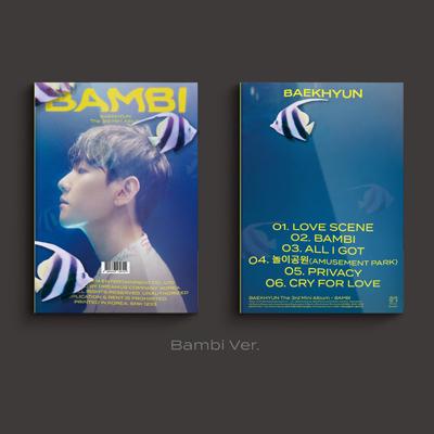 【韓国盤】3rd Mini Album 'Bambi' 【Photo Book Ver. (CD)】<Bambi Ver.>