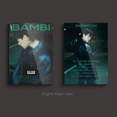 【韓国盤】3rd Mini Album 'Bambi' 【Photo Book Ver. (CD)】<Night Rain Ver.>