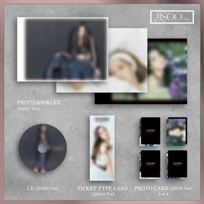 【限定盤】THE ALBUM -JP Ver.-(JISOO Ver.)(CD)