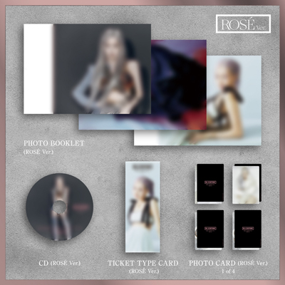 【限定盤】THE ALBUM -JP Ver.-(ROSE Ver.)(CD)