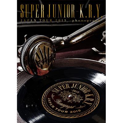 SUPER JUNIOR-K.R.Y. JAPAN TOUR 2015 ~phonograph~【初回限定生産盤】(DVD2枚組)
