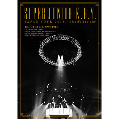 SUPER JUNIOR-K.R.Y. JAPAN TOUR 2015 ~phonograph~【通常盤】(DVD)
