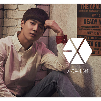 Love Me Right ~romantic universe~(CD)SUHO(スホ)Ver.