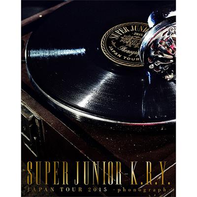 SUPER JUNIOR-K.R.Y. JAPAN TOUR 2015 ~phonograph~【初回限定生産盤】(Blu-ray2枚組)