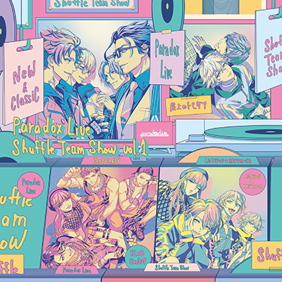 【special dope box配送】Paradox Live Shuffle Team Show Vol.1(CD)