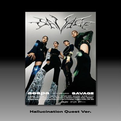 【韓国盤】The 1st Mini Album『Savage』【Hallucination Quest Ver.(CD)】