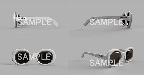 Rat-tat-tat オリジナルサングラス