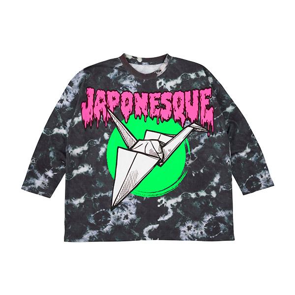 ロングスリーヴTシャツ  JAPONESQUE(M/L)
